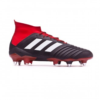 Bota adidas Predator 18.1 SG Core black-White-Red