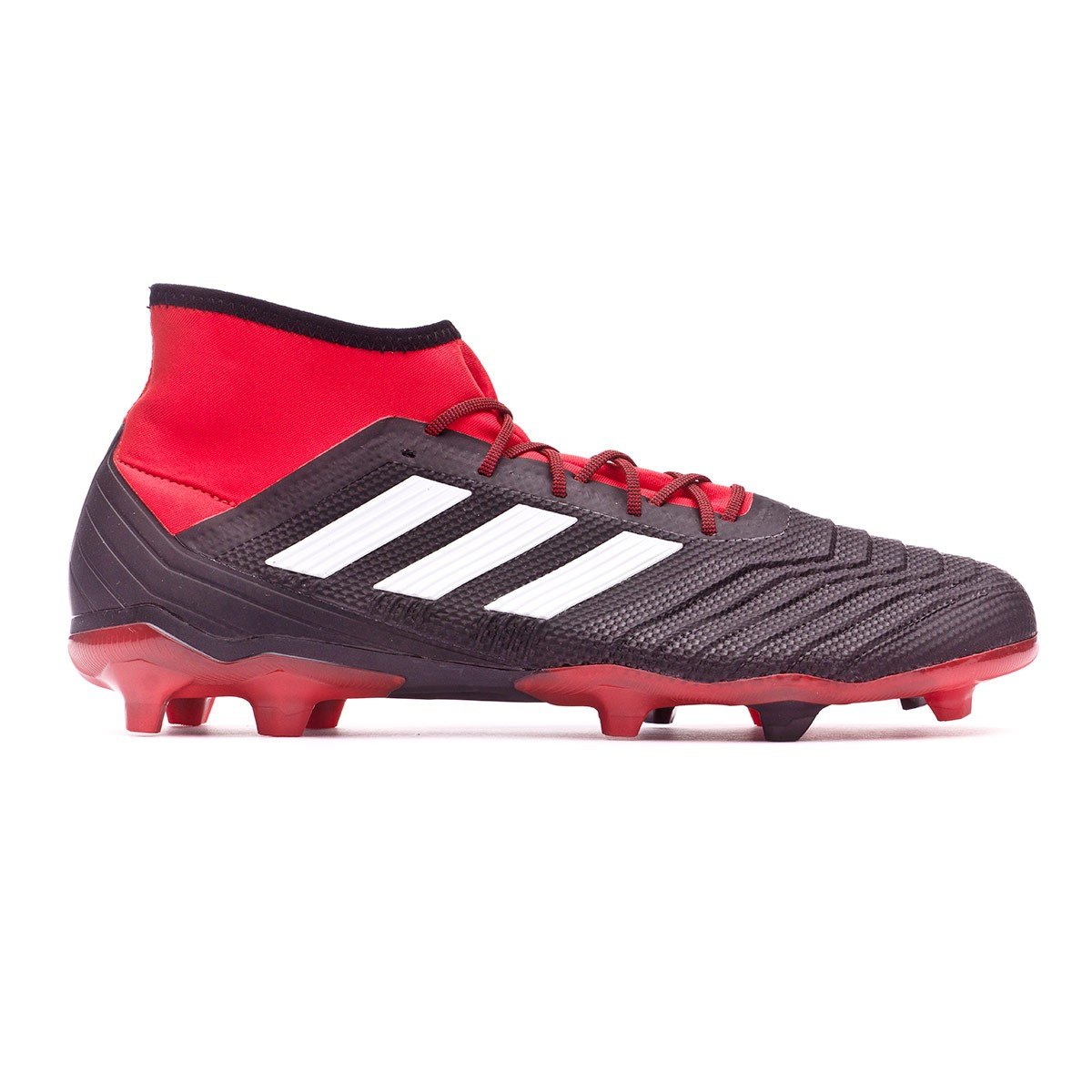 huge selection of 7c63e e9b28 Football Boots adidas Predator 18.2 FG Core black-White-Red - Football  store Fútbol Emotion
