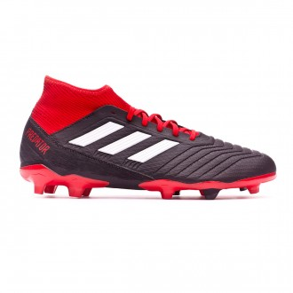 Bota  adidas Predator 18.3 FG Core black-White-Red