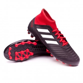 Chuteira  adidas Predator 18.3 AG Core black-White-Red