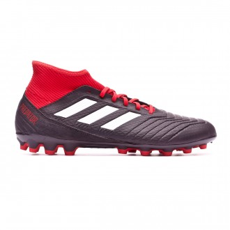 Bota  adidas Predator 18.3 AG Core black-White-Red