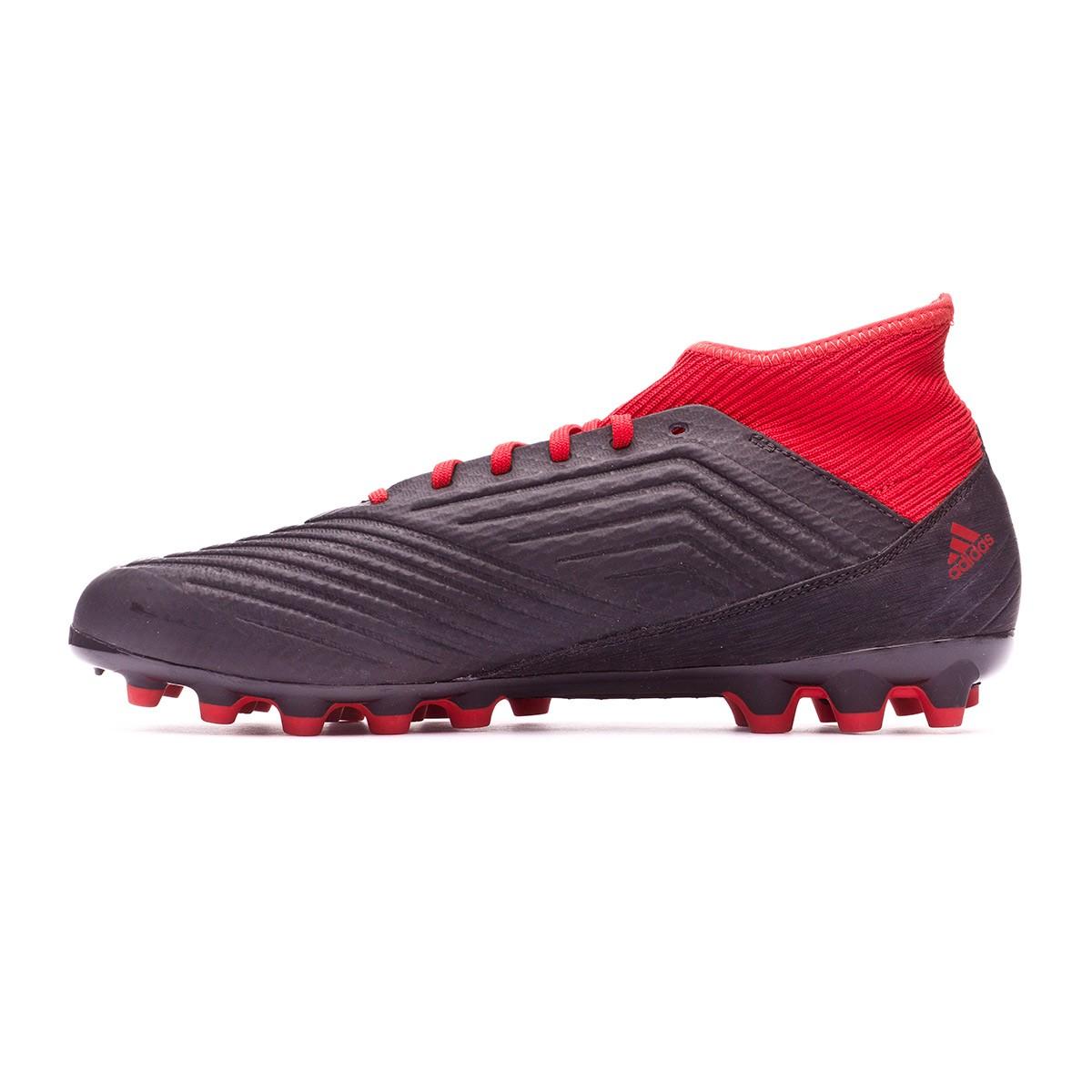 meet 34372 0e594 Boot adidas Predator 18.3 AG Core black-White-Red - Football store Fútbol  Emotion
