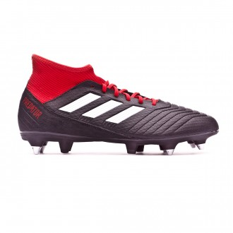 Bota  adidas Predator 18.3 SG Core black-White-Red