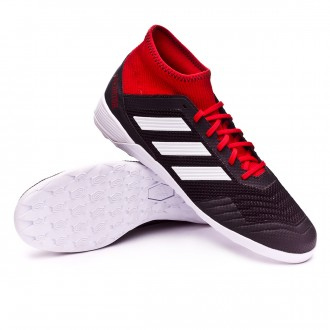Sapatilha de Futsal  adidas Predator Tango 18.3 IN Core black-White-Red