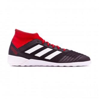 Sapatilha de Futsal  adidas Predator Tango 18.3 IN Core black-White-Red