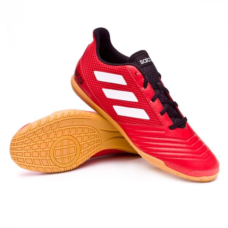 41b027b5db42 Futsal Boot adidas Predator Tango 18.4 Sala Red-White - Football ...