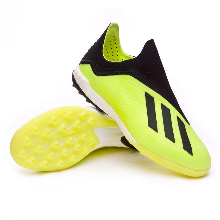 bb1b48483f763 Tenis adidas X Tango 18+ Turf Solar yellow-Core black-White - Tienda ...