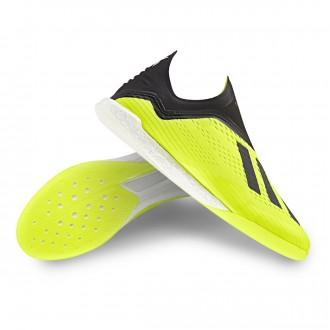 Futsal Boot  adidas X Tango 18+ IN Solar yellow-Core black-White