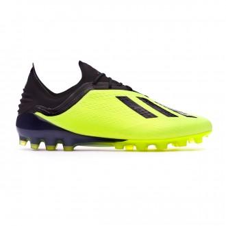 Football Boots  adidas X 18.1 AG Solar yellow-Core black-White