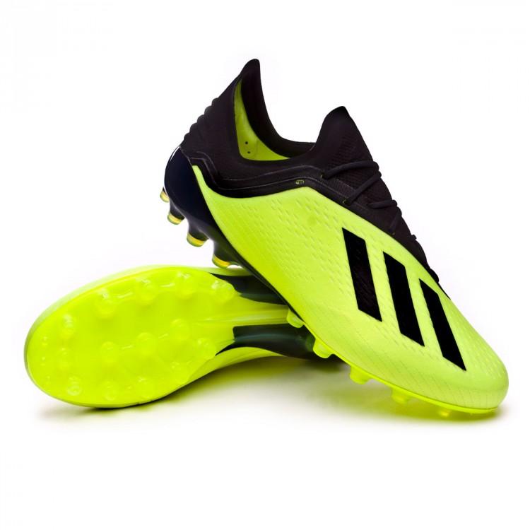 sale retailer 780aa cab3f bota-adidas-x-18.1-ag-solar-yellow-core-