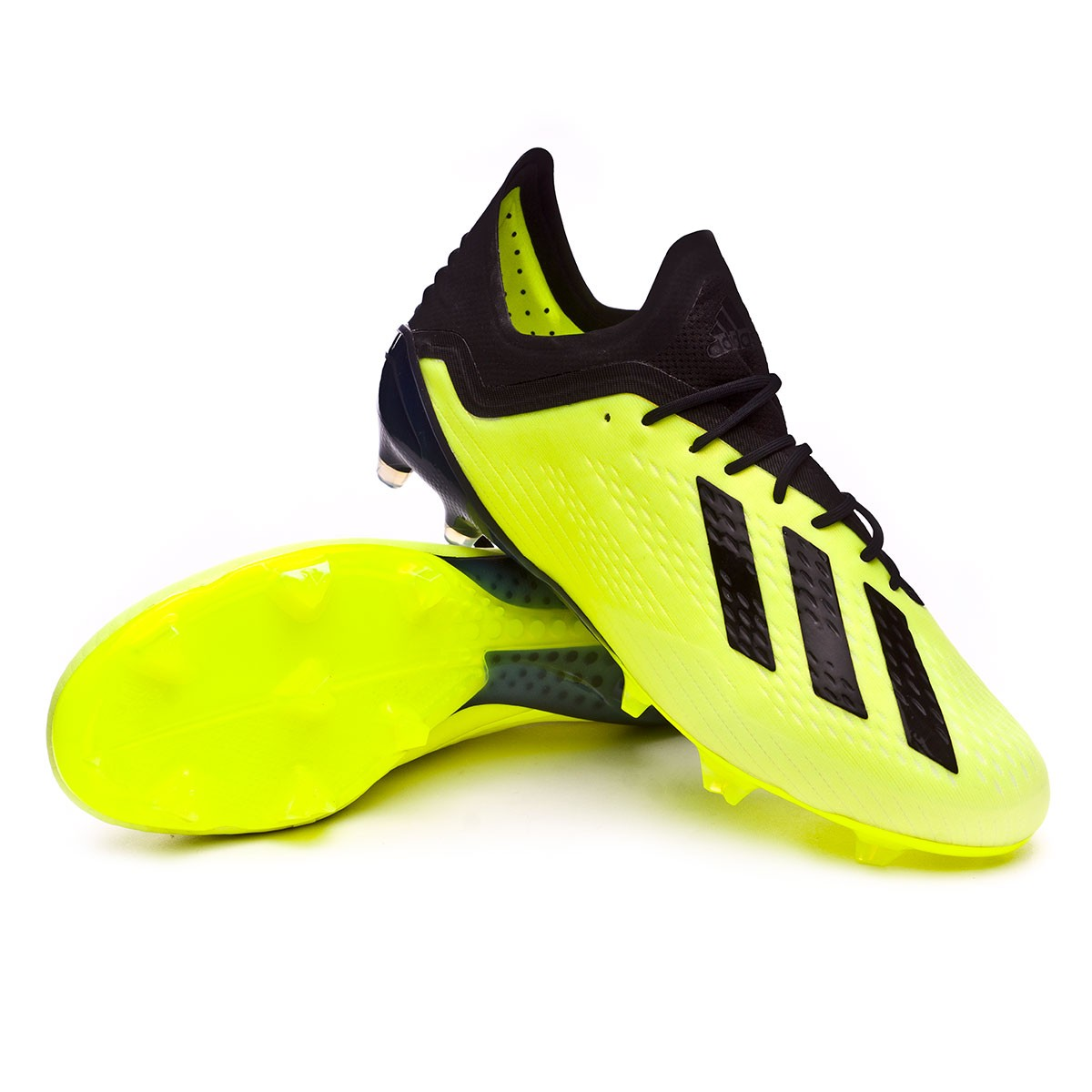 low priced 9bfca 85a10 adidas X 18.1 FG Football Boots. Solar yellow-Core black-White ...