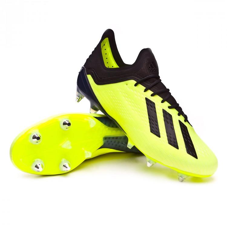 Chuteira adidas X 18.1 SG Solar yellow-Core black-White - Loja de ... 16d538540e245
