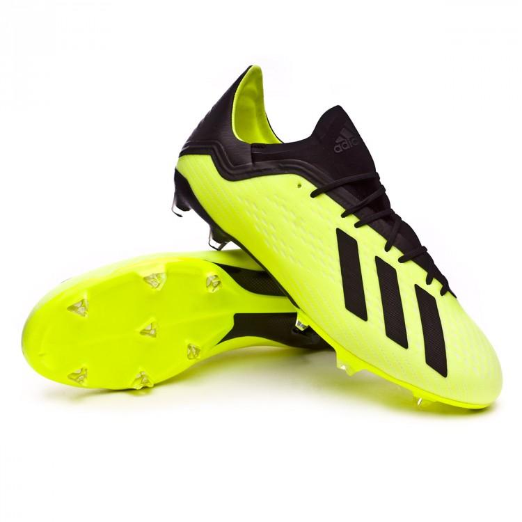 22875493809d Boot adidas X 18.2 FG Solar yellow-Core black-White - Football store ...
