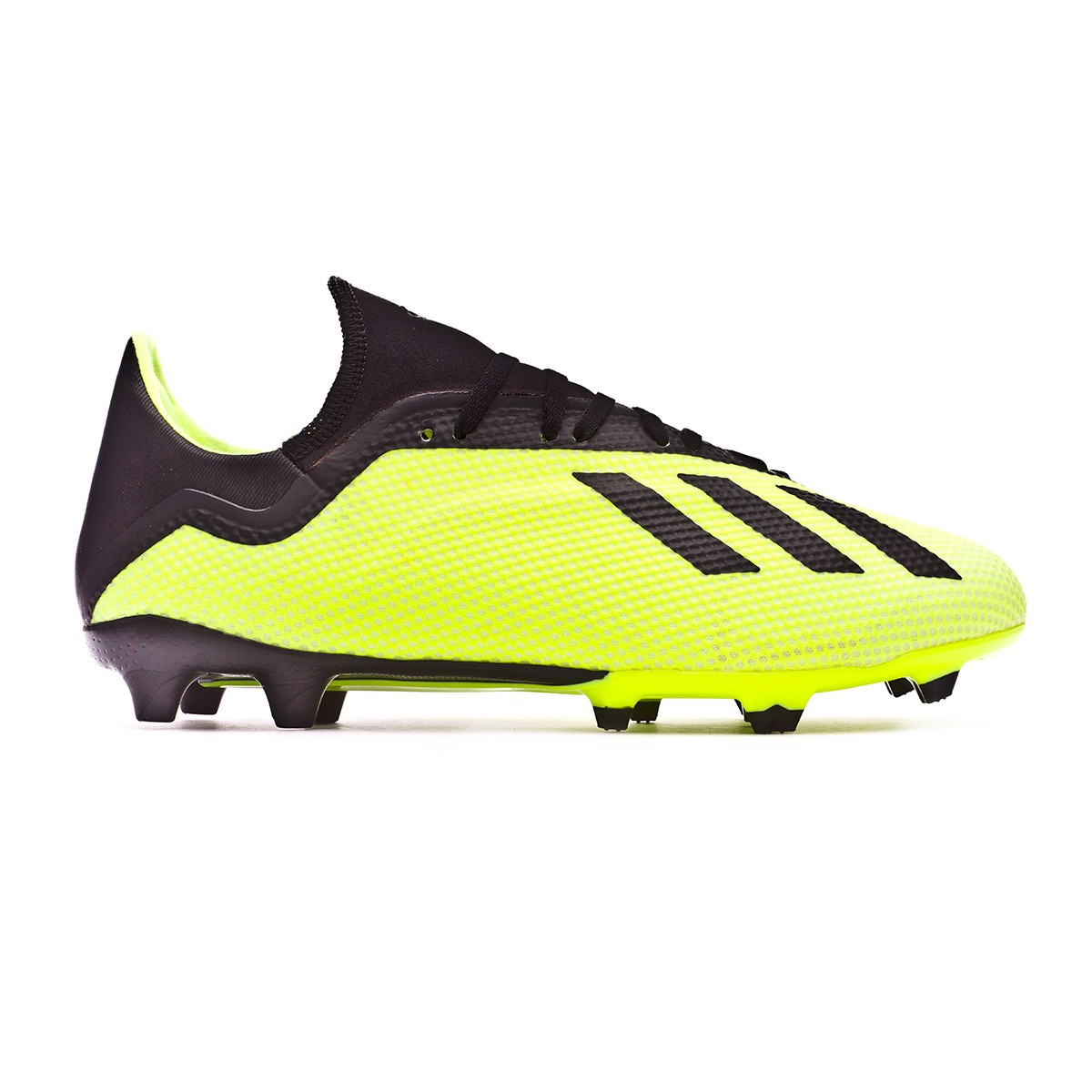 ae86cb99d Football Boots adidas X 18.3 FG Solar yellow-Core black-White - Football  store Fútbol Emotion