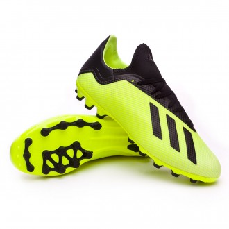 Chuteira  adidas X 18.3 AG Solar yellow-Core black-White