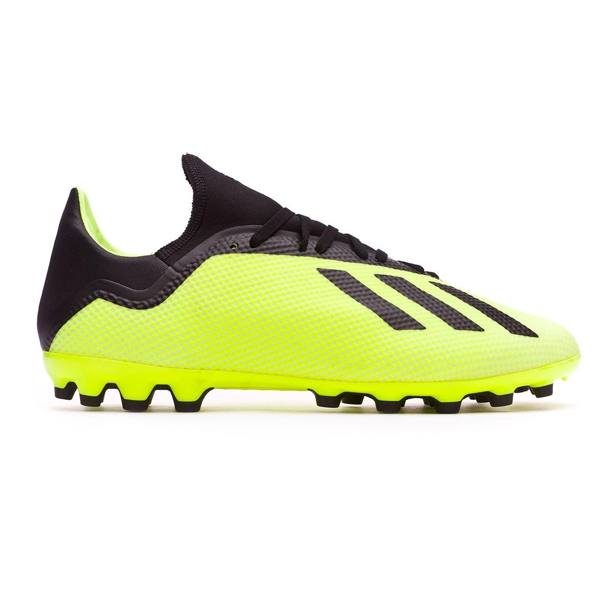 006c5939bda1 Football Boots adidas X 18.3 AG Solar yellow-Core black-White - Football  store Fútbol Emotion