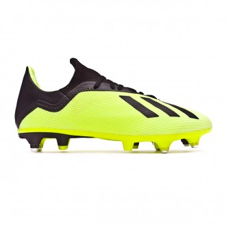 Chuteira  adidas X 18.3 SG Solar yellow-Core black-White