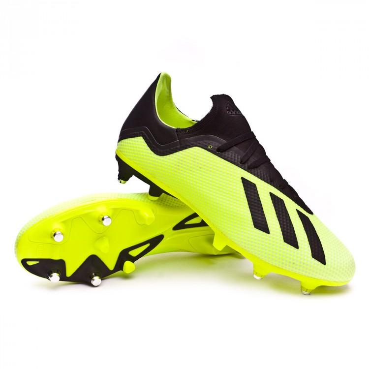 best sneakers eda08 07fa7 bota-adidas-x-18.3-sg-solar-yellow-core-