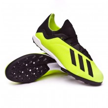 Football Boot X Tango 18.3 Turf Solar yellow-Core black-White
