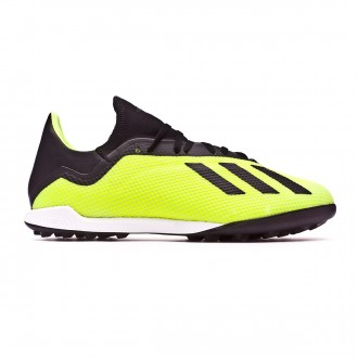 Football Boot  adidas X Tango 18.3 Turf Solar yellow-Core black-White