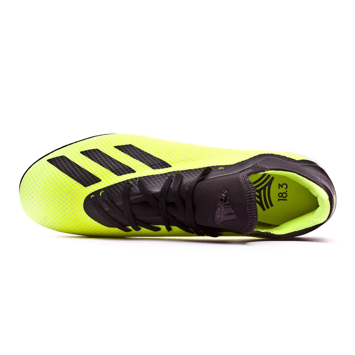 check out 6710f 86f54 Zapatilla X Tango 18.3 Turf Solar yellow-Core black-White
