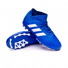 Bota Nemeziz 18.3 AG Niño Football blue-White-Football blue