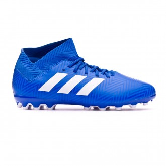 Football Boots  adidas Kids Nemeziz 18.3 AG Football blue-White-Football blue