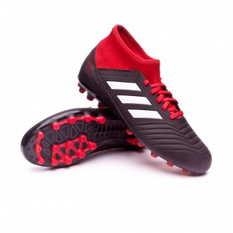 Bota  adidas Predator 18.3 AG Niño Core black-White-Red