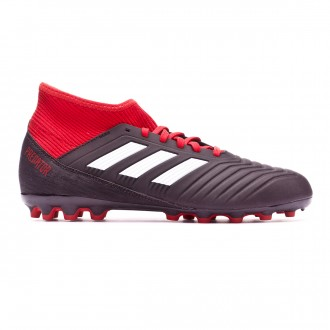 Football Boots  adidas Kids Predator 18.3 AG Core black-White-Red