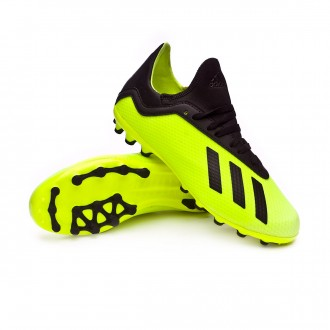 Scarpe   adidas X 18.3 AG Junior Solar yellow-Core black-Solar yellow