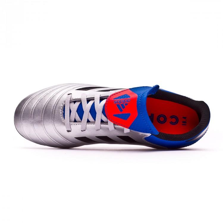 0308aabdcfe8e Boot adidas Kids Copa 18.4 FxG Silver metallic-Core black-Football ...