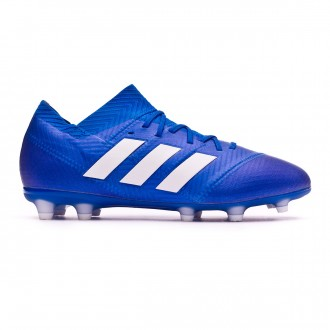 Football Boots  adidas Kids Nemeziz 18.1 FG Football blue-White-Football blue