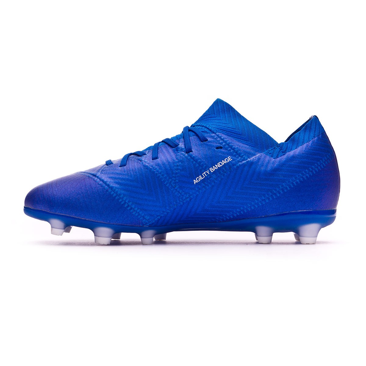 63875b433b1 Football Boots adidas Kids Nemeziz 18.1 FG Football blue-White-Football blue  - Football store Fútbol Emotion