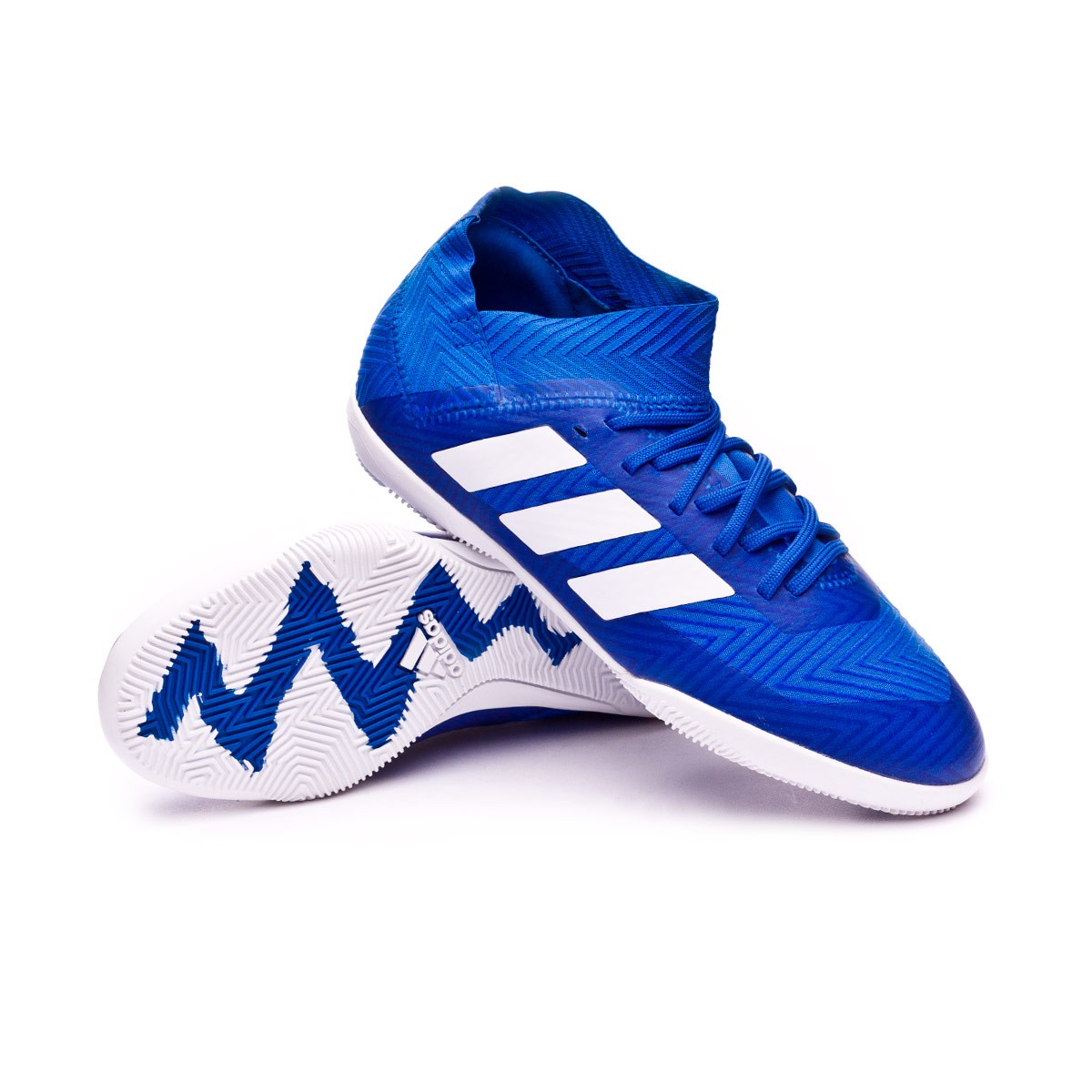 636dfe73a21 Futsal Boot adidas Kids Nemeziz Tango 18.3 IN Football blue-White-Football  blue - Football store Fútbol Emotion