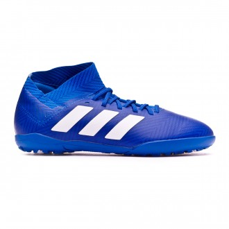 Zapatilla adidas Nemeziz Tango 18.3 Turf Niño Football blue-White-Football blue