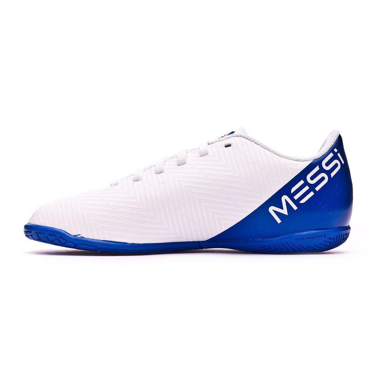 promo code 05129 c419b ... Zapatilla Nemeziz Messi Tango 18.4 IN Niño White-Core black-Football  blue. CATEGORY