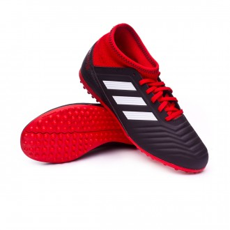Zapatilla  adidas Predator Tango 18.3 Turf Niño Core black-White-Red