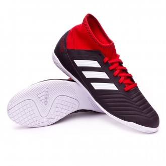 Futsal Boot  adidas Kids Predator Tango 18.3 IN  Core black-White-Red