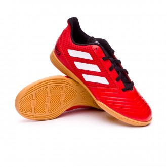 Zapatilla  adidas Predator Tango 18.4 Sala Niño Red-White