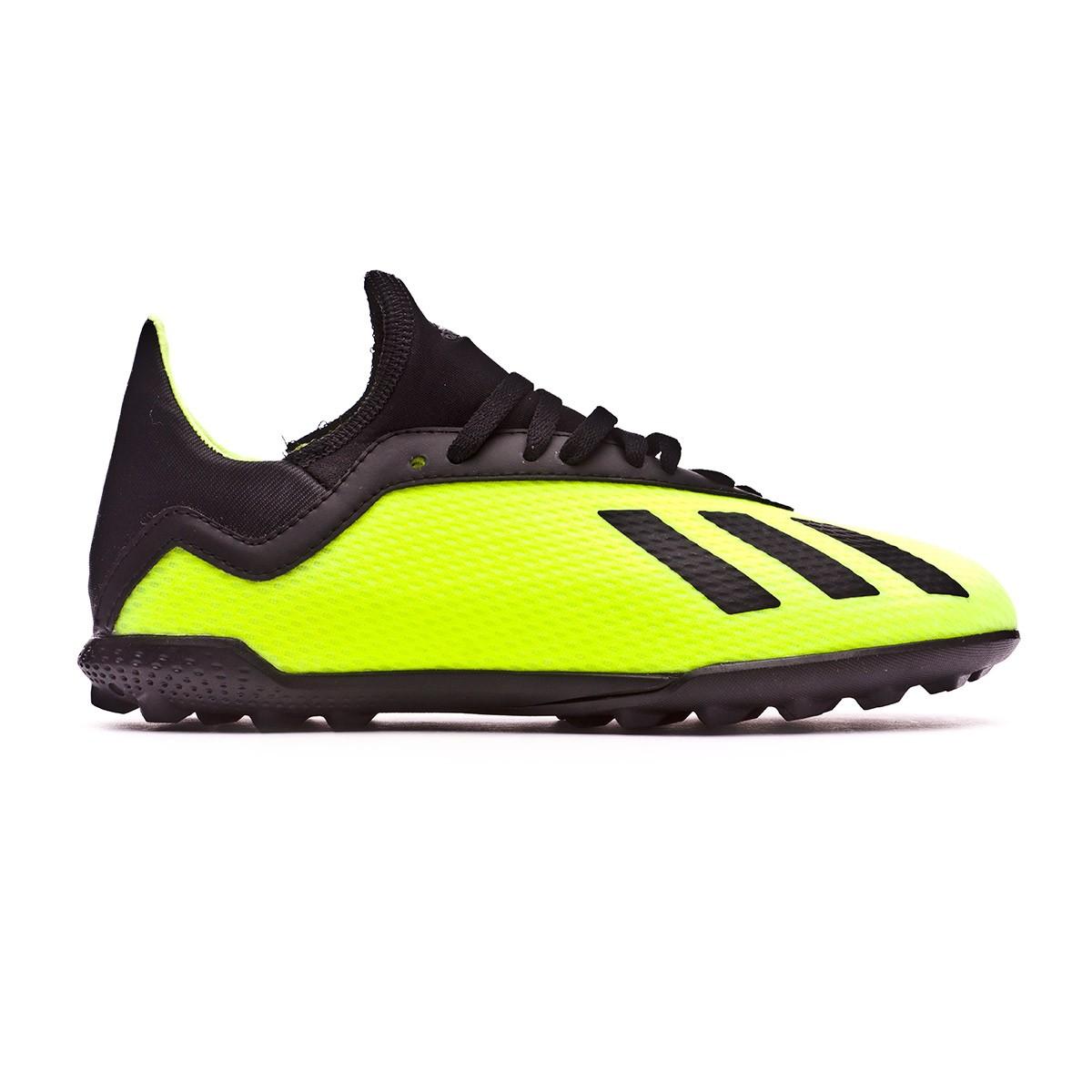 160f54abf51 Football Boot adidas Kids X Tango 18.3 Turf Solar yellow-Core black-Solar  yellow - Tienda de fútbol Fútbol Emotion