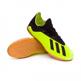 Chaussure de futsal  adidas X Tango 18.3 IN enfant Solar yellow-Core black-Solar yellow