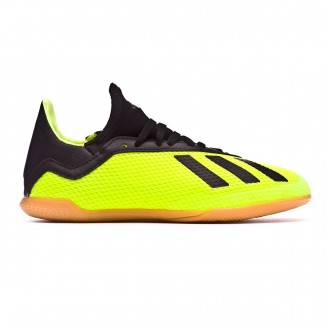 Futsal Boot  adidas Kids X Tango 18.3 IN Solar yellow-Core black-Solar yellow