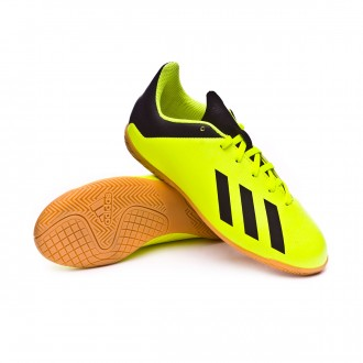 Chaussure de futsal  adidas X Tango 18.4 IN enfant Solar yellow-Core black-Solar yellow