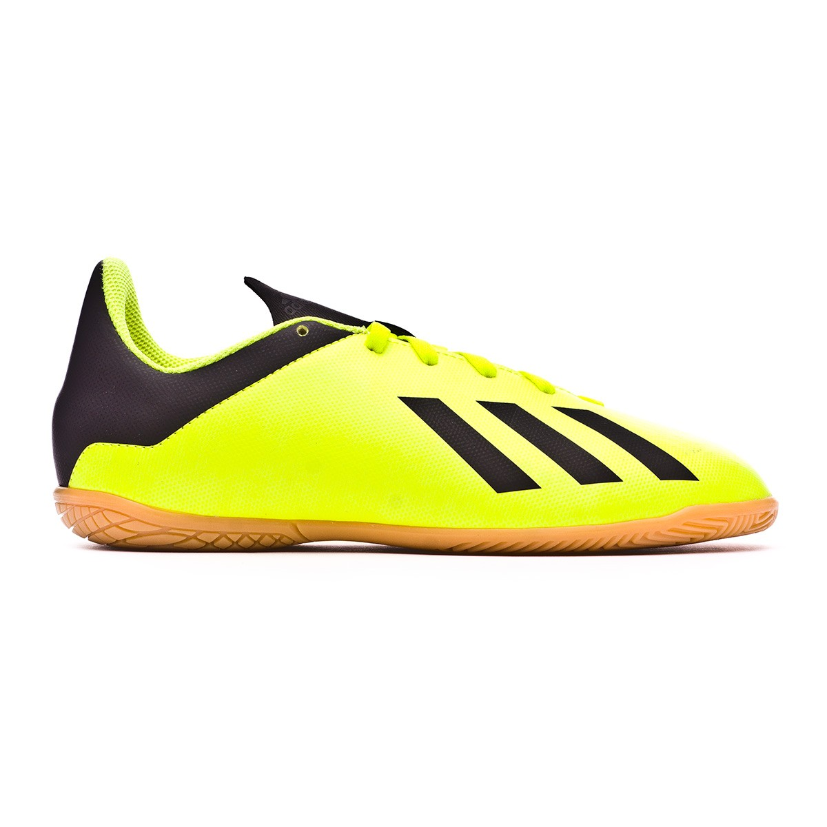 3264a52c1d833 Futsal Boot adidas Kids X Tango 18.4 IN Solar yellow-Core black-Solar yellow  - Football store Fútbol Emotion