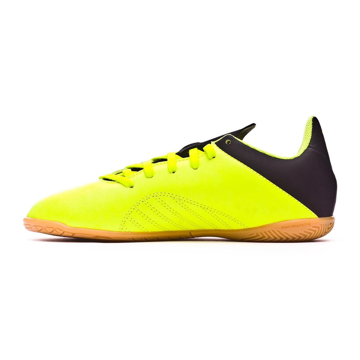 61defc05 Futsal Boot adidas Kids X Tango 18.4 IN Solar yellow-Core black-Solar  yellow - Tienda de fútbol Fútbol Emotion