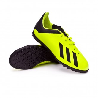 Chaussure de football  adidas X Tango 18.4 Turf enfant Solar yellow-Core black-Solar yellow