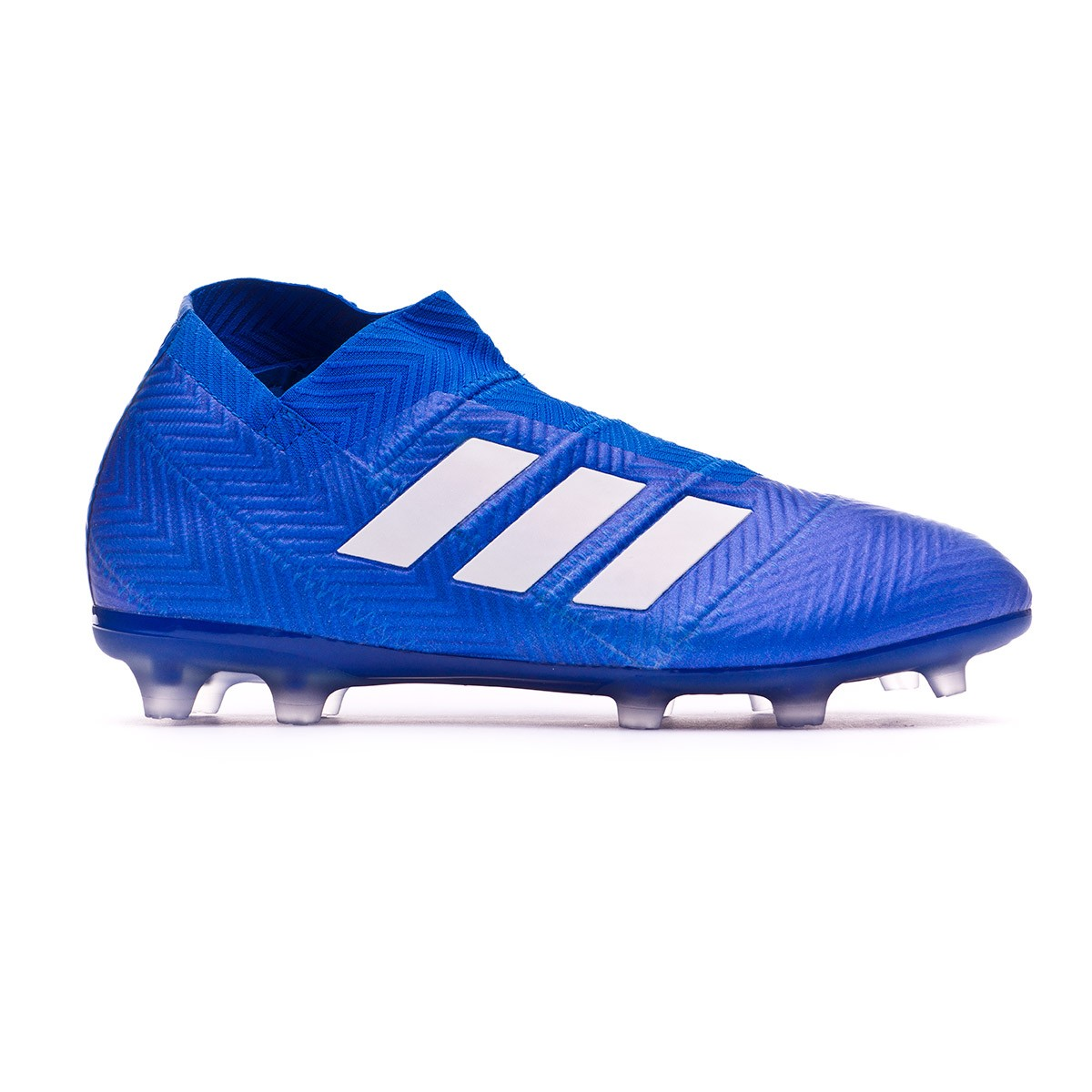 404927420 Football Boots adidas Kids Nemeziz 18+ FG Football blue-White-Football blue  - Tienda de fútbol Fútbol Emotion