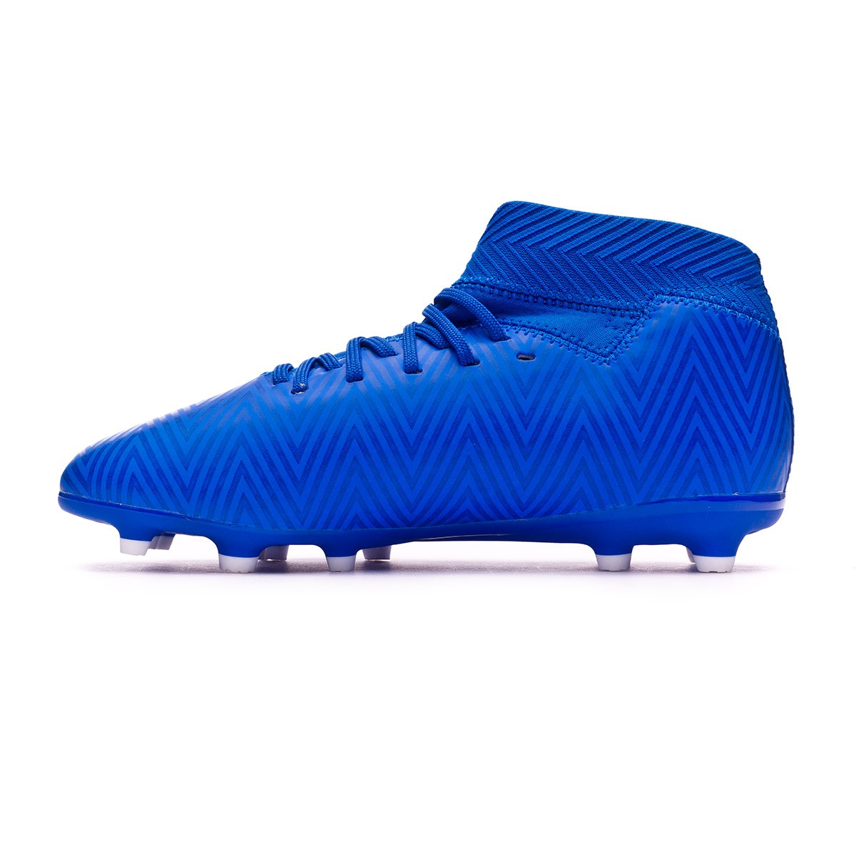 e5a70e178 Football Boots adidas Kids Nemeziz 18.3 FG Football blue-White-Football blue  - Tienda de fútbol Fútbol Emotion