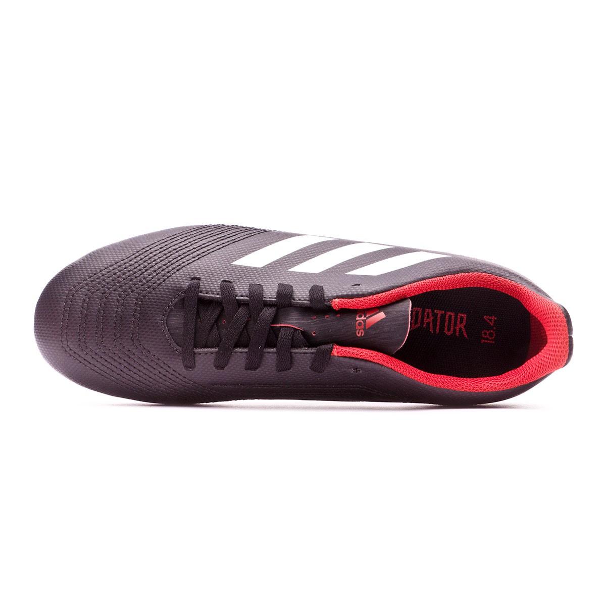 5fbbad8597be0 Football Boots adidas Kids Predator 18.4 FxG Core black-White-Red - Football  store Fútbol Emotion