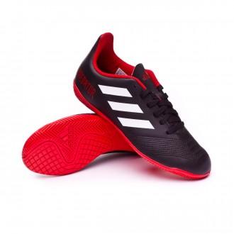 Zapatilla  adidas Predator Tango 18.4 IN Niño Core black-White-Red